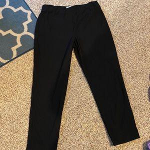 Black Straight Leg Trousers